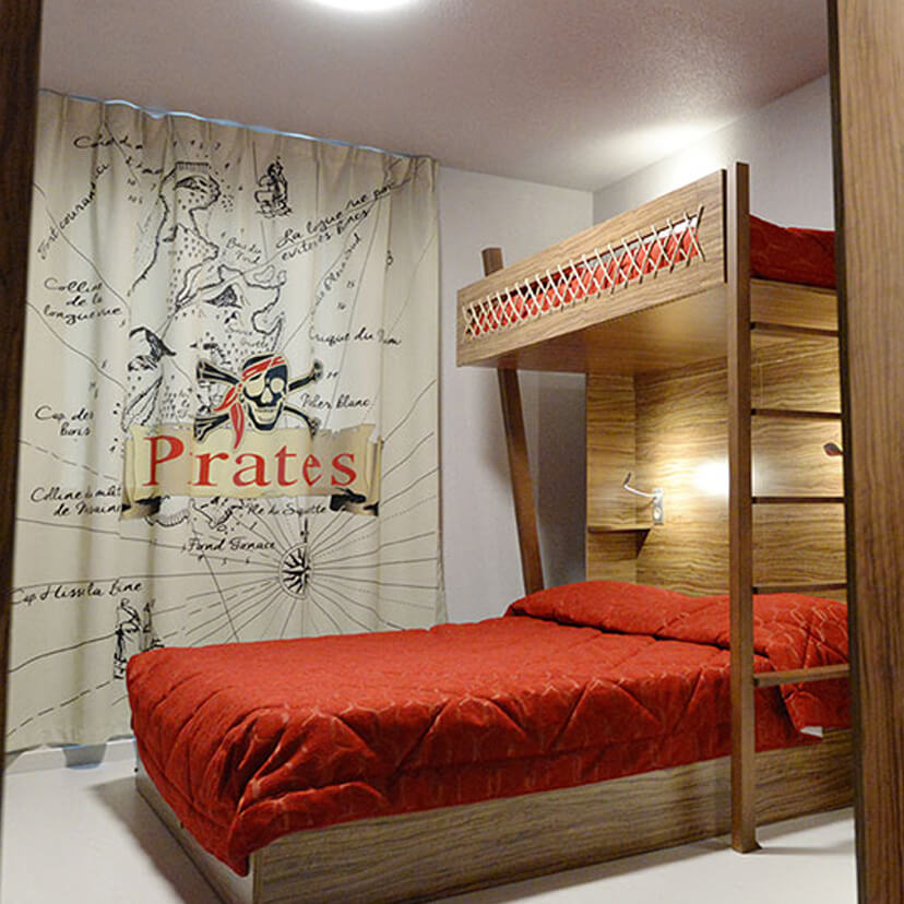 Header Mobile Hôtel Parc Pirates