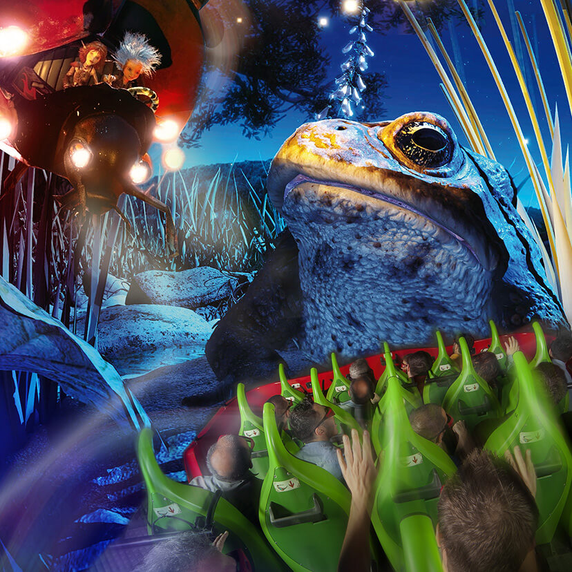 header attraction arthur l'aventure 4D