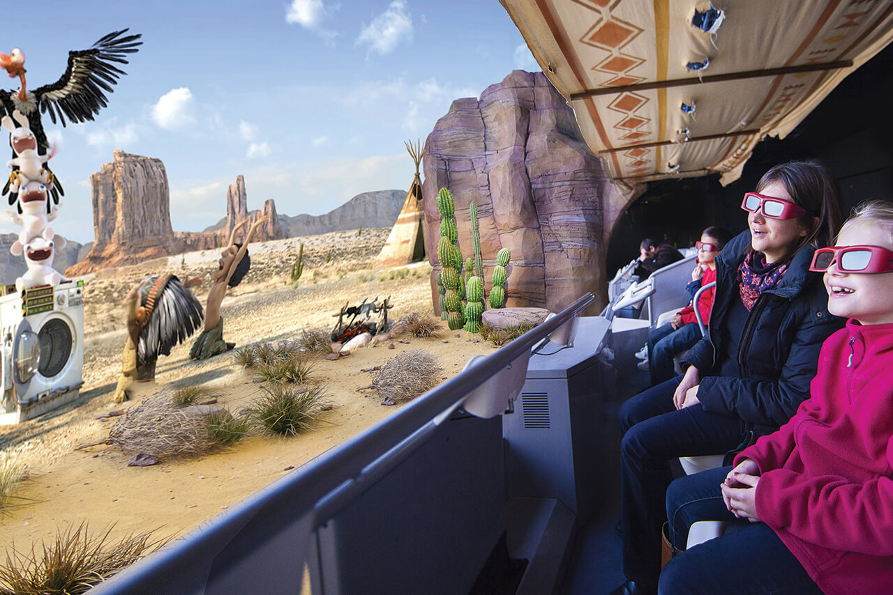 Attraction Machine Voyager dans le temps visio 3