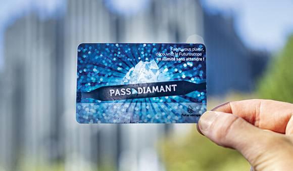 Card Pass Premium Diamant