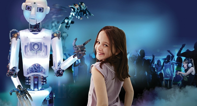 Danse avec les Robots - attraction Futuroscope