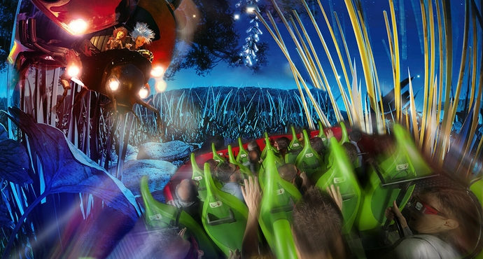 Attraction Arthur 4D Visio 1